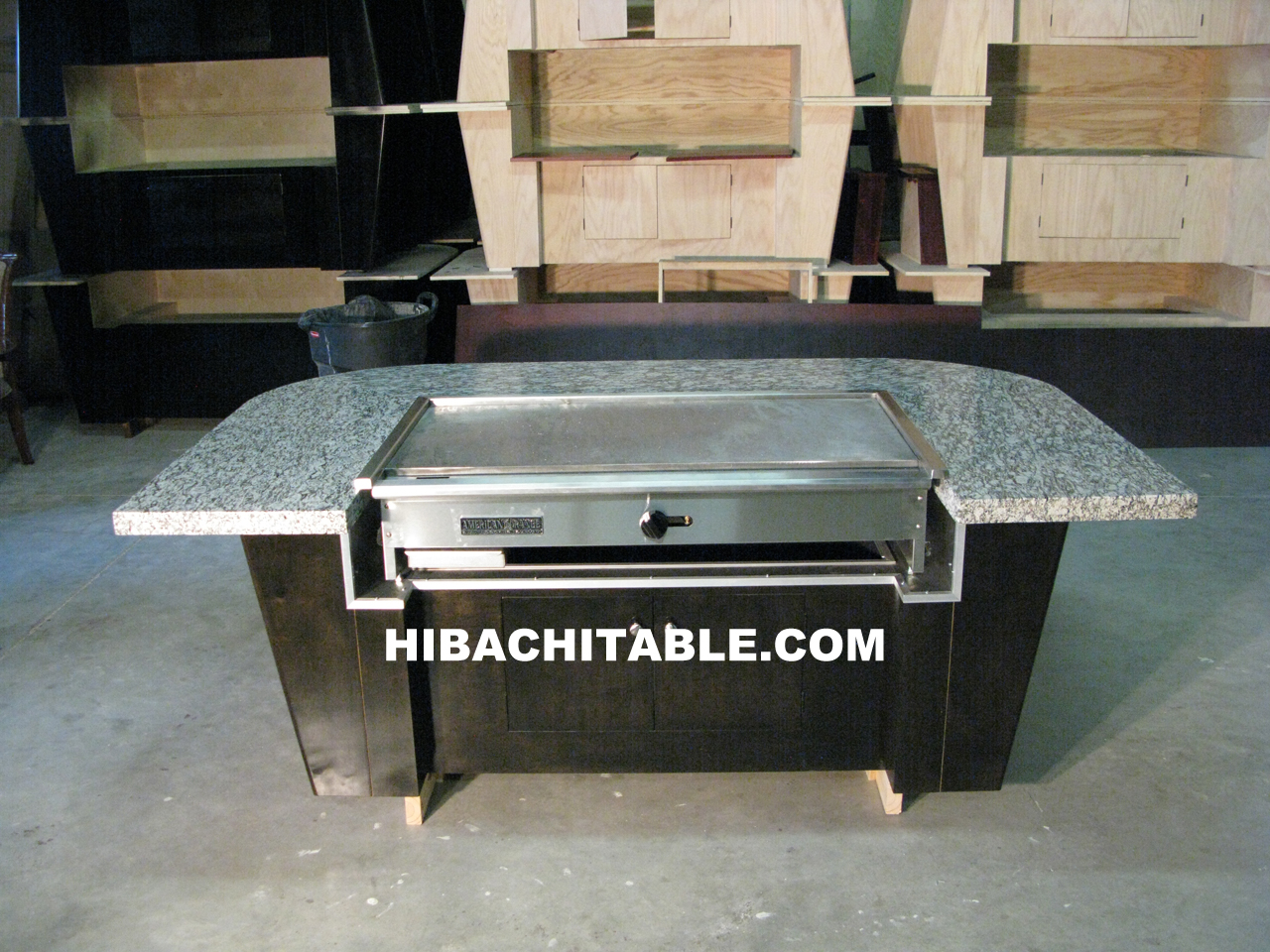 Gallery Hibachi Table Teppanyaki Table Teppan Table Sushi - Teppan table